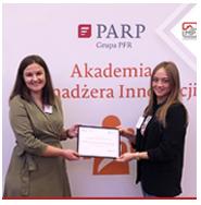 Certyfikat Akademii Menadżera Innowacji